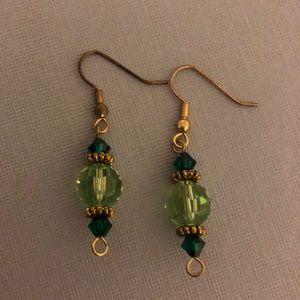 Jewelry - Swarovski Crystal Dangle earrings